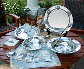 Polished Coastal Tabletop Luxury!
