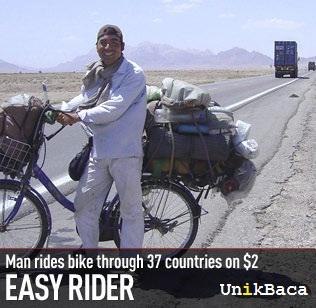 Keliling Dunia Pakai Sepeda