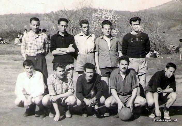 Candelario Salamanca futbol en 1956