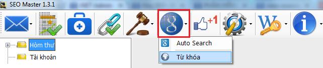 Auto Search trong phần mềm SEO Master