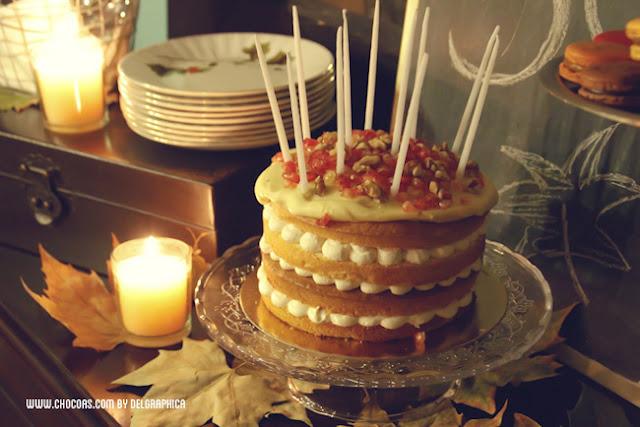 Carrot cake otoño
