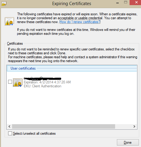 Users Expired Certificate Warning-Lync Certificate | IT Calls Blog