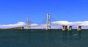 Melihat Kemegahan Jembatan Suromadu Dari Kamera Pocket