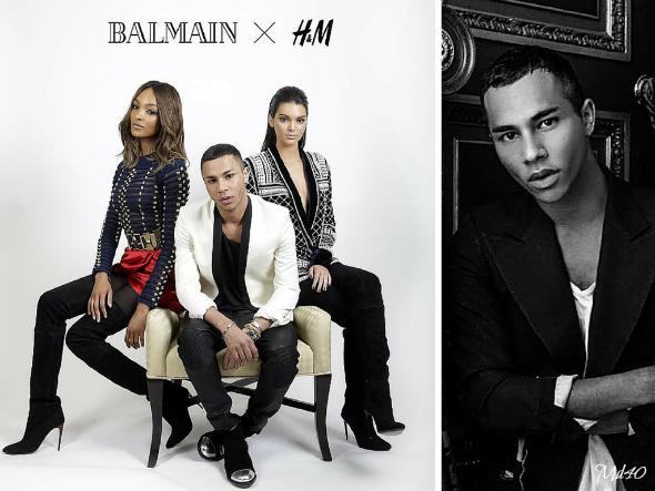 Colección Balmain X H&M Llega la HMBalmaination