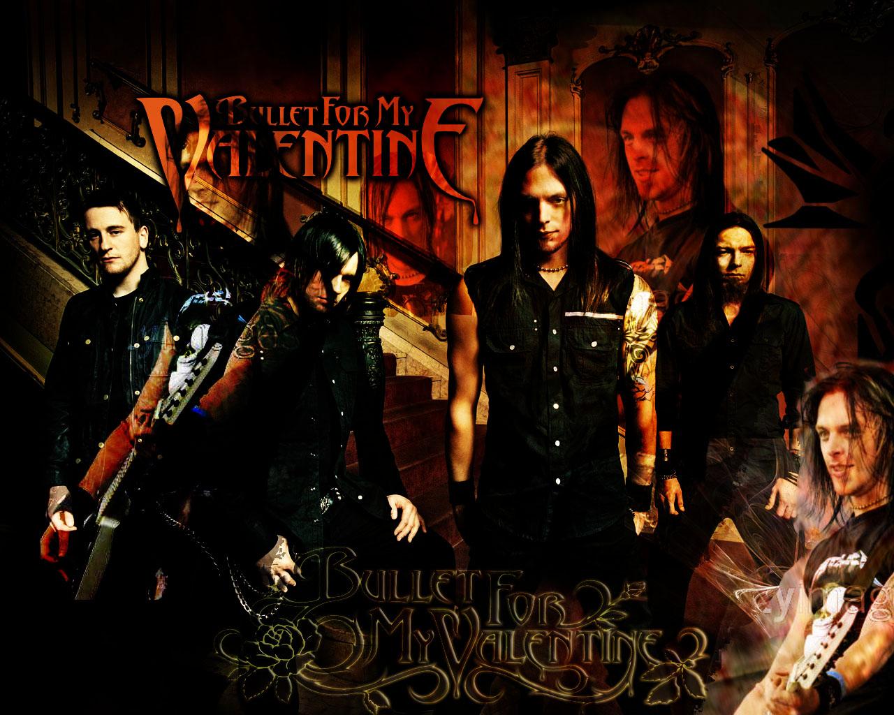 Bullet For My Valentine ( Conhecida Também Como Bullet,BFMV, B4MV) é Uma  Banda De Metal Galesa De Bridgend Formada Em 1998 A Banda é Composta Por  Matt Tuck ...