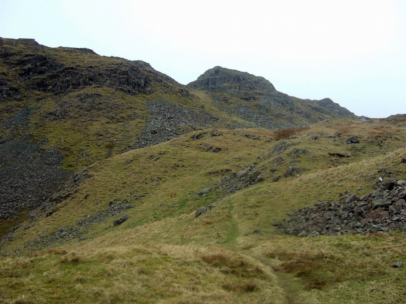 Path from Easedale Tarn to Tarn Crag