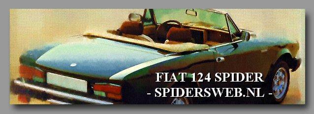 FIAT 124 SPIDER - SPIDERSWEB.NL -