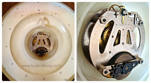 Relojes a cuerda, mecanismos originales, relojes antiguos para decorar, decorativos, vintage, valencia