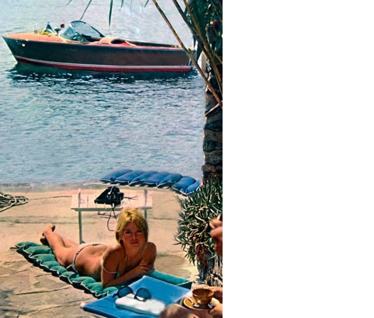 Deco La Madrague - Brigitte Bardot