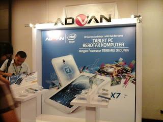 Advan Vandroid X7 dengan Prosesor Intel Atom X3