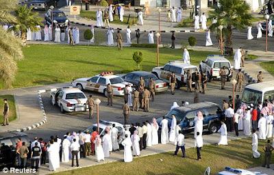Public flogging in Saudi Arabia