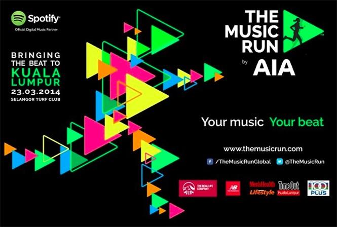 The Music Run KL 2014, the music run, running event in kl