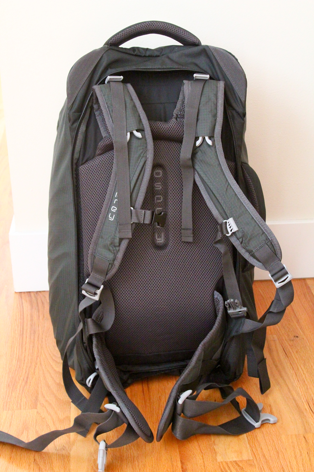 Answering Oliver: My RTW Backpack, Round Two: Osprey Farpoint 55