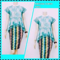 Baju Kebaya Batik Motif Rang Rang Broklat