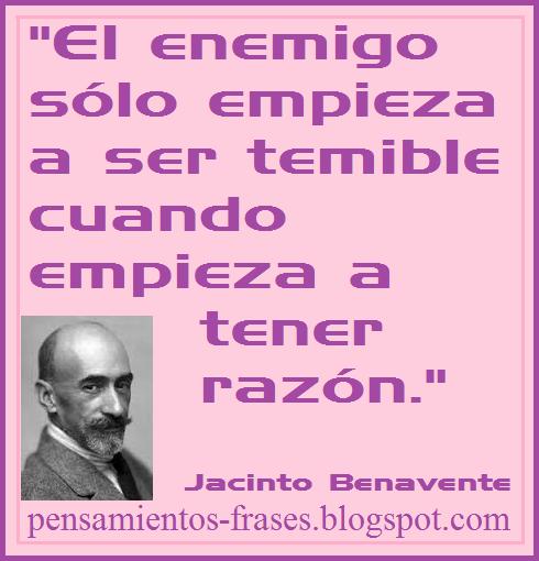 frases de Jacinto Benavente