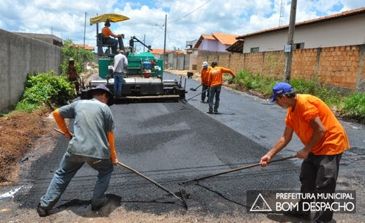 Obras do Babilônia em Bom Despacho avançam