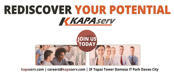 Davao Jobs: Outbound Sales Representative for KAPAserv