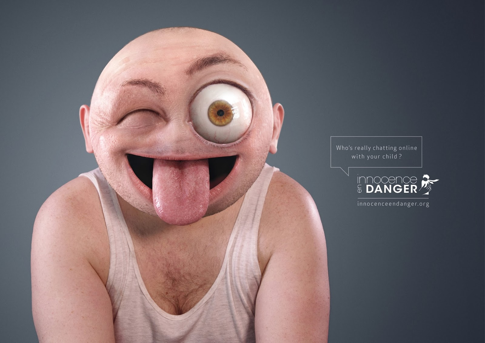 Innocence en Danger Emoticons campaign,