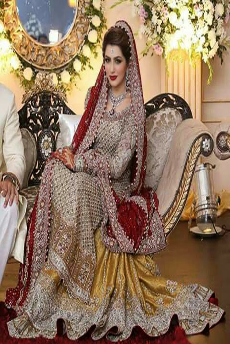 Pakistani dulhan shadi dress ~ Pak Fashion