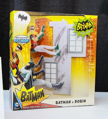 Mattel 2013 Toy Fair Display Pictures - Classic 1960's Batman figures - Batman & Robin 2-Pack