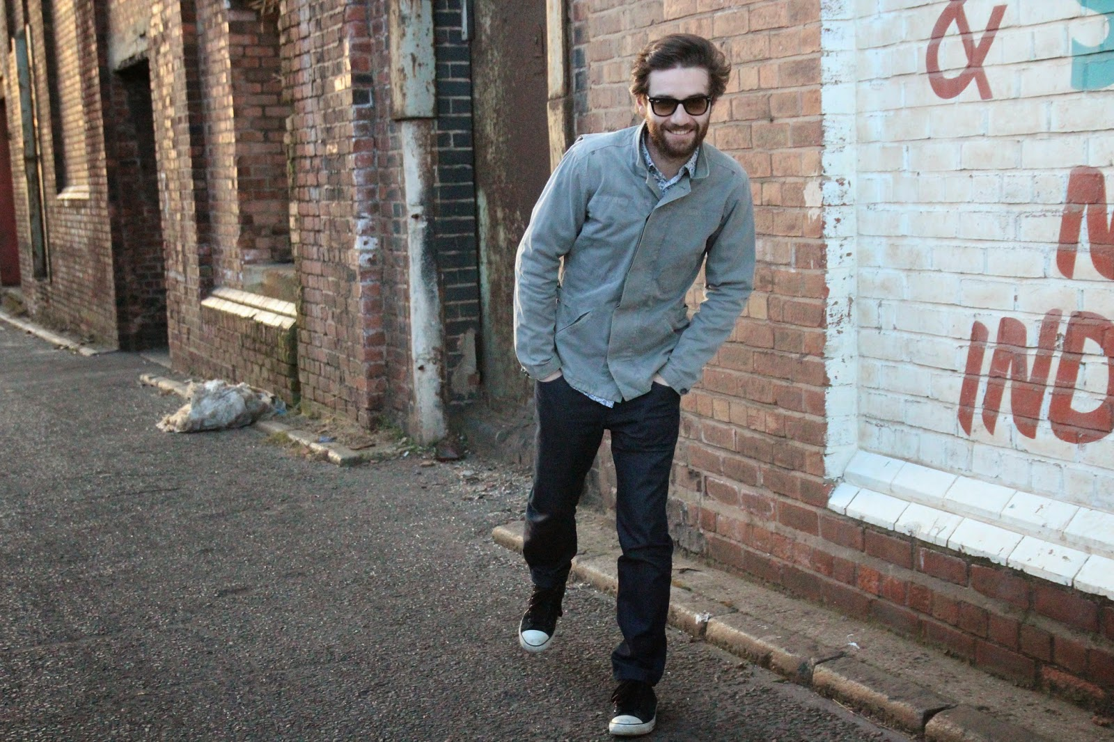 street style, menswear, ted baker, reiss, ray bans