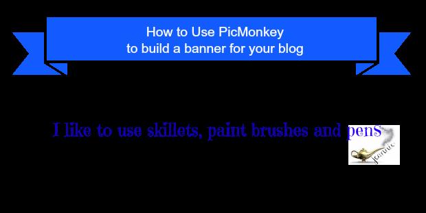 DIY #blogbanner, PicMonkey, Blogger banner