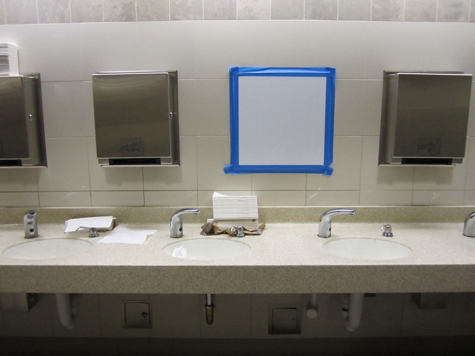 bathroom mirror reflection. Bathroom Mirror Reflection