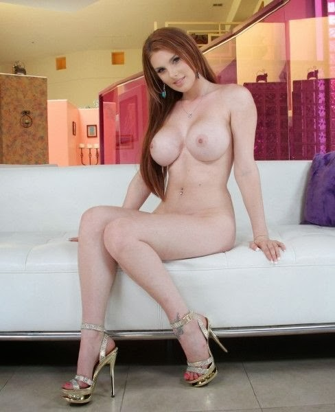 Lilith Lust Cream Pie for a hot Red-Head
