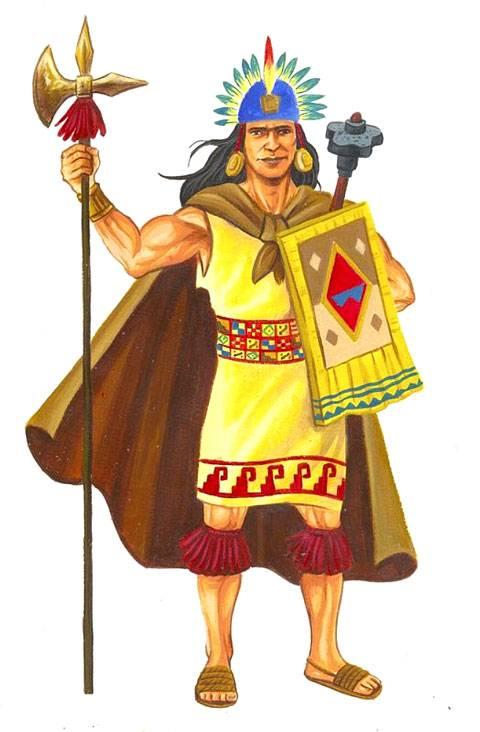 Inca Warriors on Mapa Del Imperio Inca