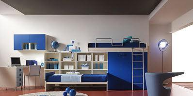 Fotos de dormitorios juveniles para dos chicos - Dormitorios juveniles poco espacio ...