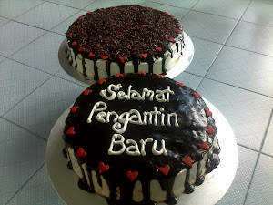 kek perkhwinan 2 tgkat ankbuah nani