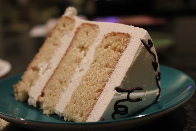 Vanilla-vanilla cake