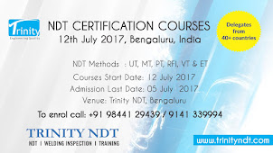NDT Level II Certification Courses - July 2017