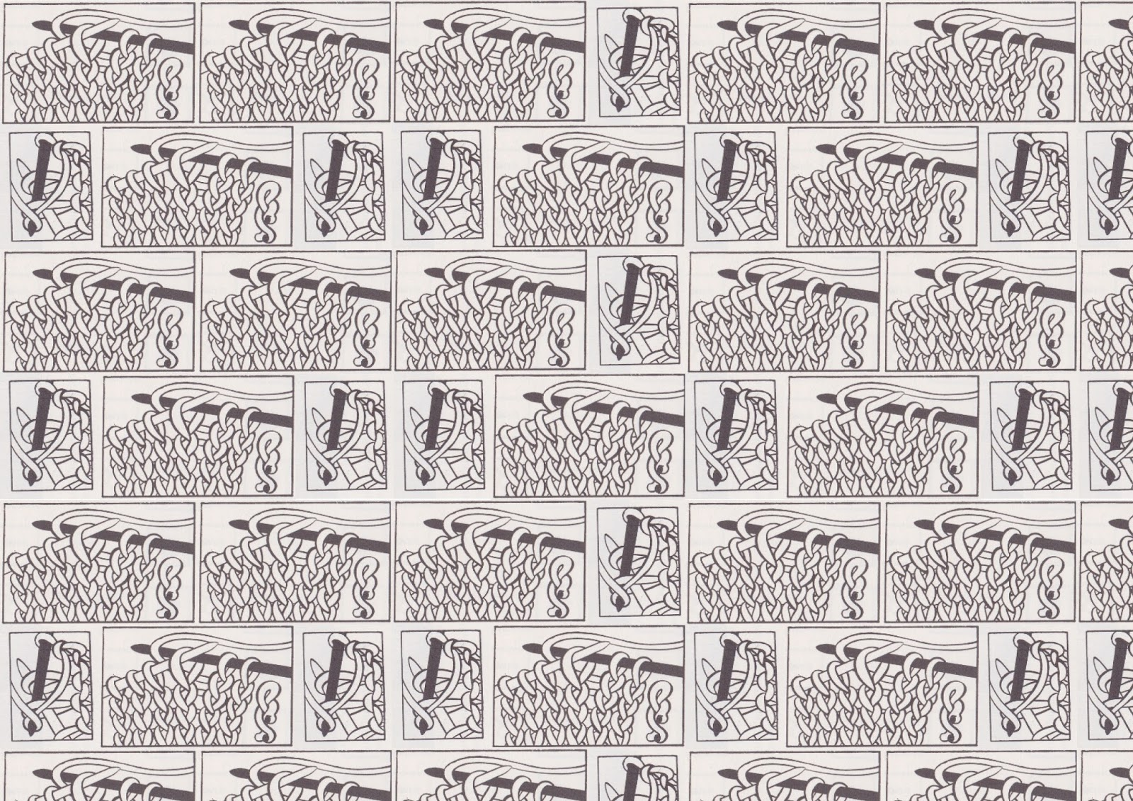 I am EJP: Knitting Pattern Diagram Digital Prints