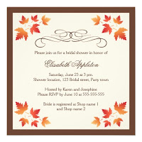 Autumn Wedding Shower Invitations2