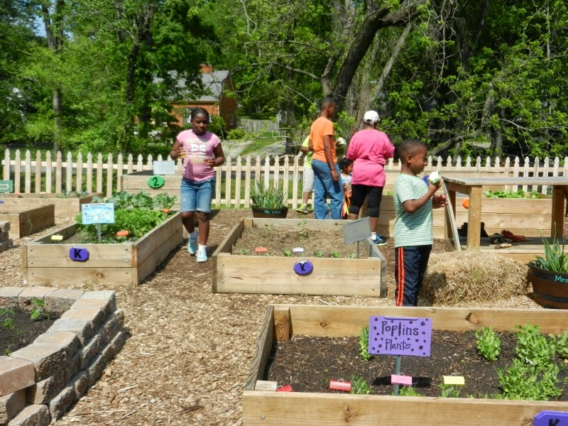 Sharing Our Guilford County School Gardens The School Garden Tour At Irving Park Elementary May