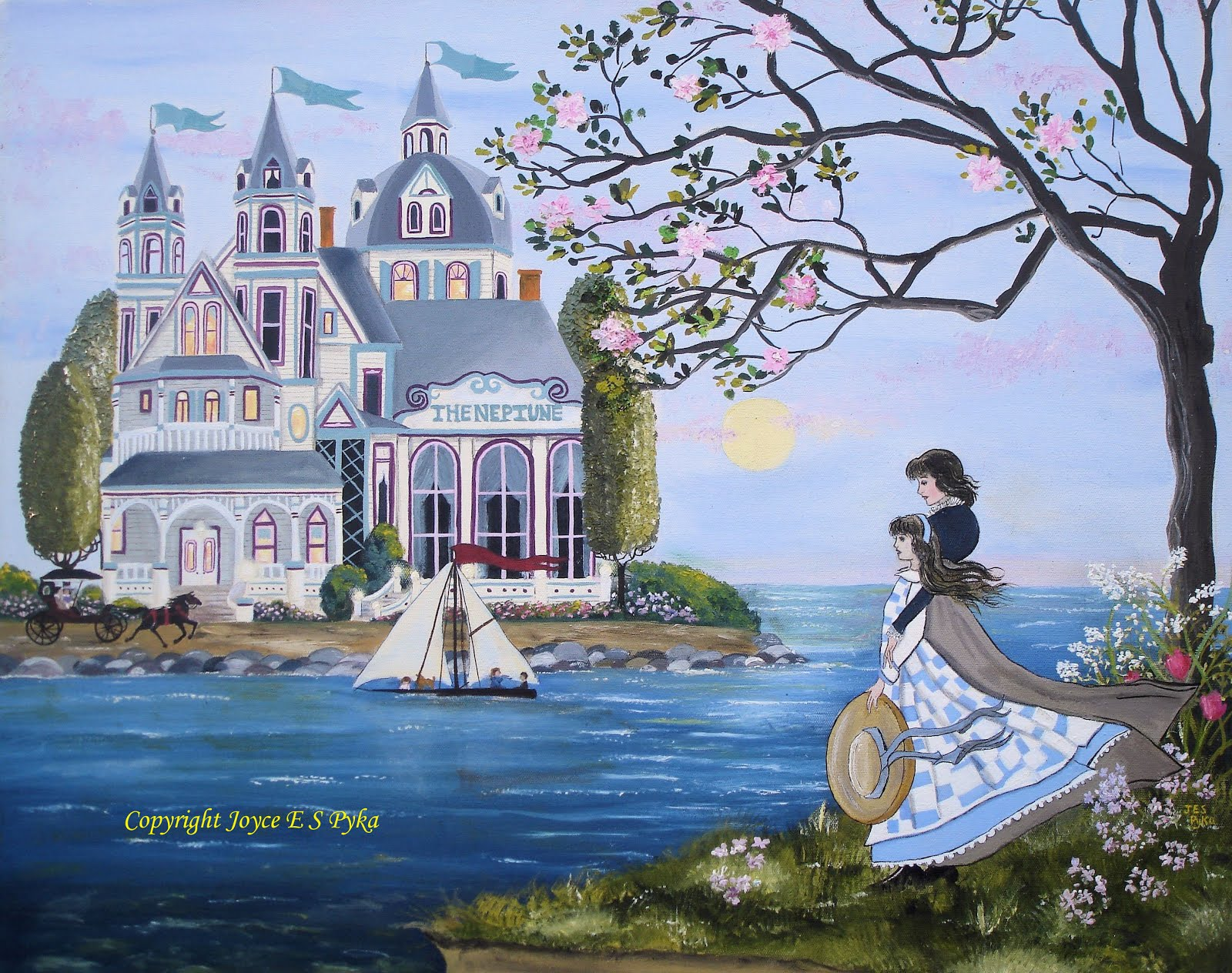 Art Prints by Joyce Pyka: a blend of folk art, stylized realism, with a touch of the impressionist!