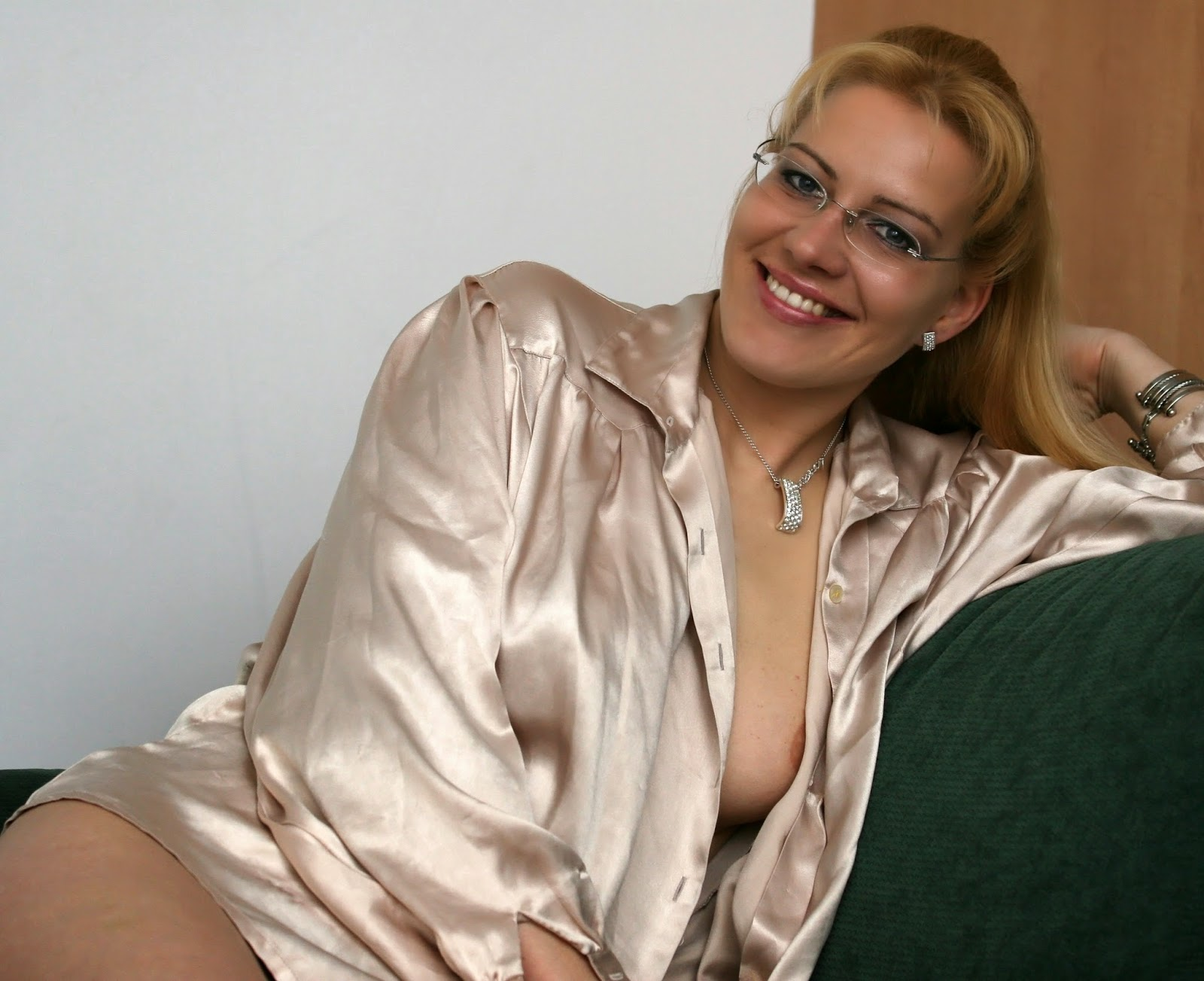 Mature in satin