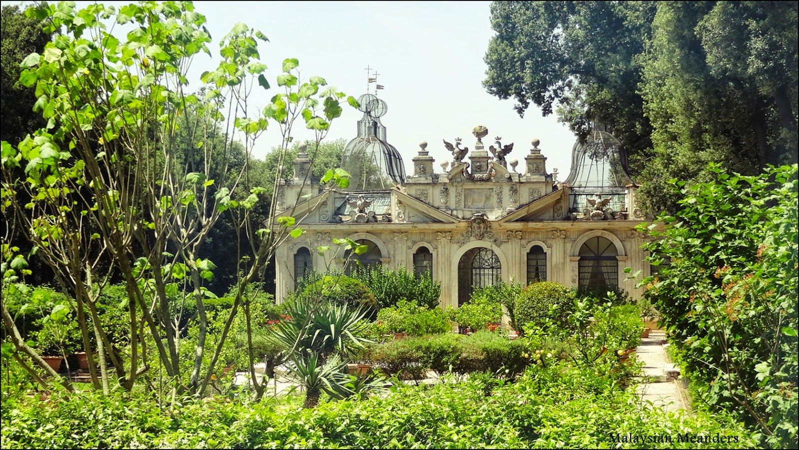 Malaysian Meanders Villa Borghese Enjoy The Outdoors In Rome