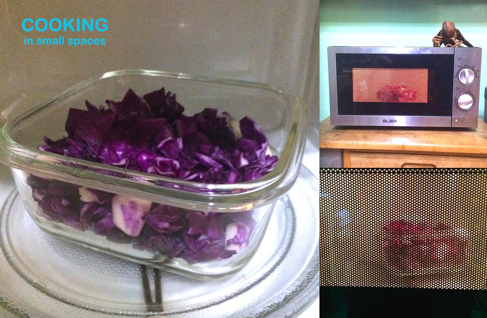how to cook red cabbage in microwave