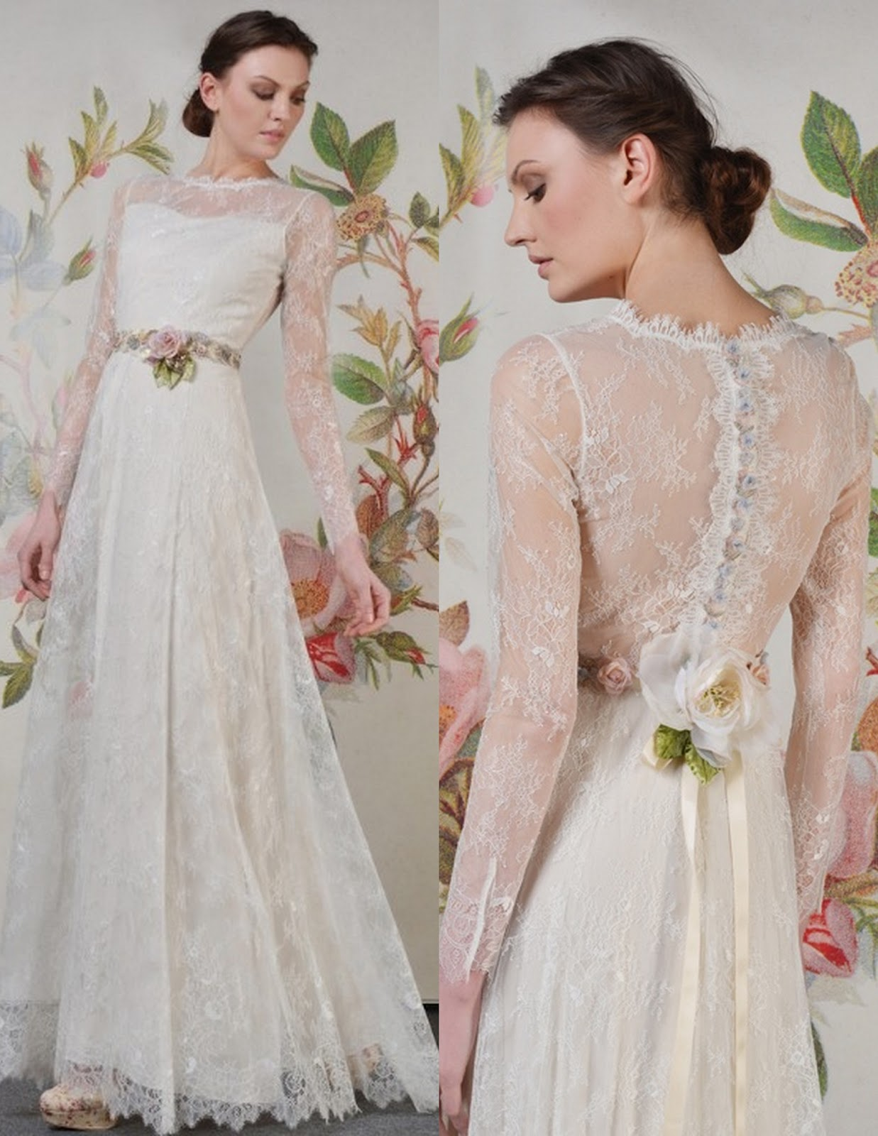 It here are outstanding lace wedding dresses for 2015 weddings