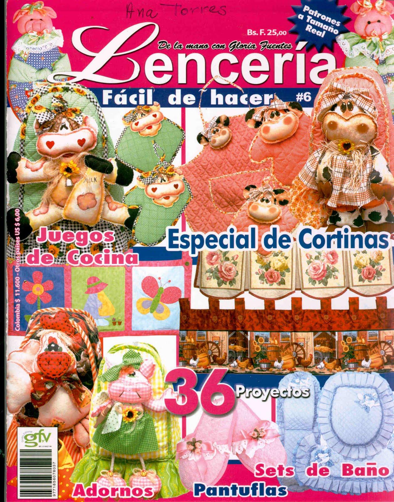 Revistas de manualidades para descargar lenceria n 6 for Revistas de decoracion gratis