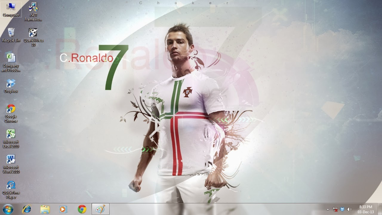 Download Cristiano Ronaldo CR7 Theme for Windows