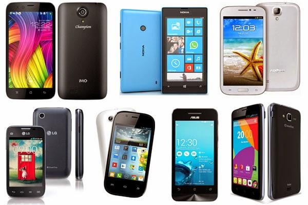 Smartphone Harga 1 Jutaan