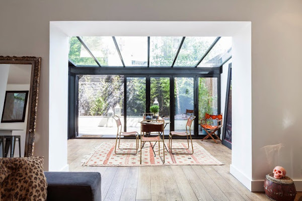 Comedor de 7 metros decorar tu casa es - Invernadero en terraza ...