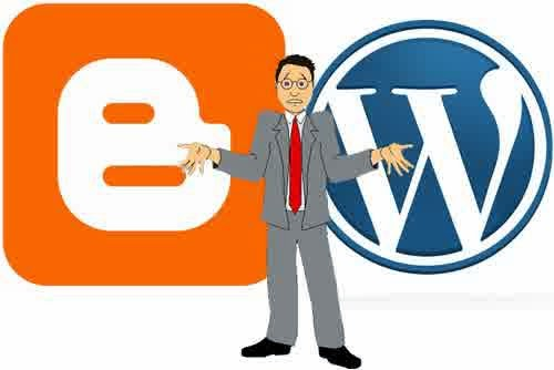 logo,blogger,vs,versus,perbandingan,dengan,wordpress
