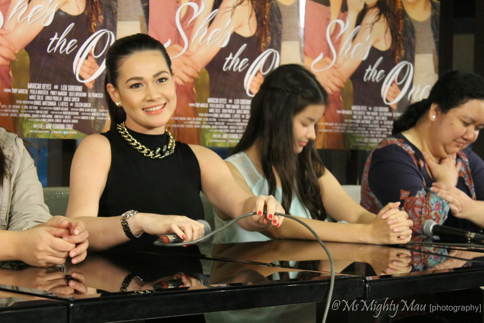 and ms charlene and with the stars ms bea alonzo and liza soberano