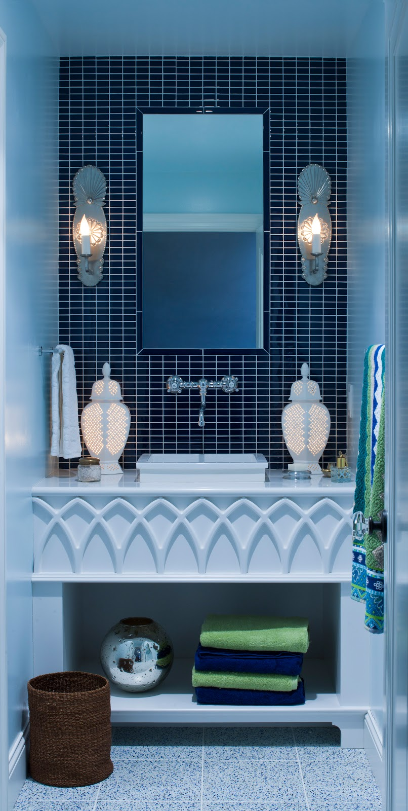 Live In Color Moroccan Blue Jewel