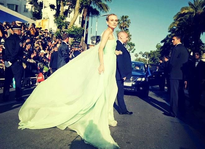 Diane Kruger in Giambattista Valli Couture Gown