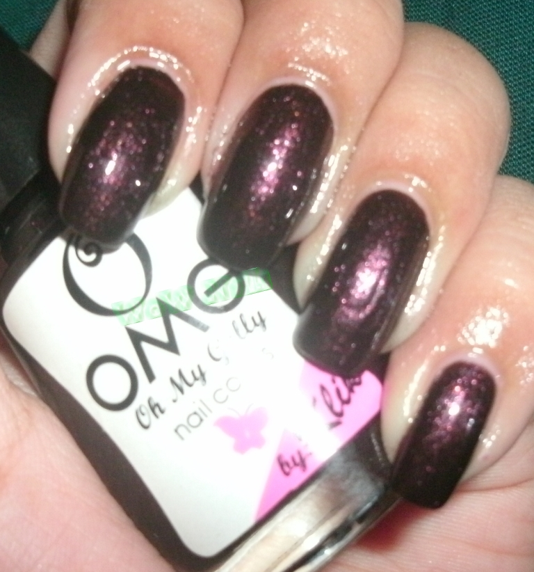WoW Nails: OMG (Oh My Golly) Happy Hour